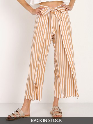 Faithfull the Brand Summer Pants Zeus Vintage Peach