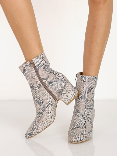 Matisse At Ease Boot Natural Snake
