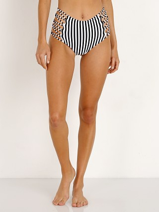 Complete the look: L Space Tripp Bitsy Bikini Bottom Domino Stripe