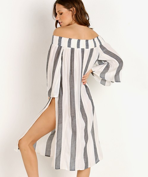 L Space Izzy Cover Up Beach Bum Stripe