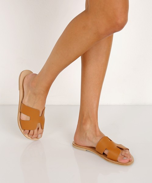 to buy uk availability half price Steve Madden Greece Sandal Cognac GREECE - Free Shipping at Largo ...