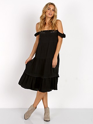 Auguste Desert Sun Day Dress Black