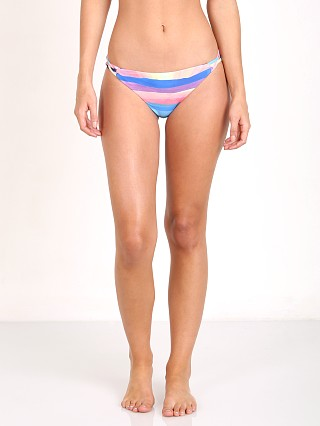 Complete the look: Mara Hoffman Landscape Basket Weave Bikini Bottom Teal