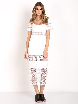 Stone Cold Fox Dryden Dress White