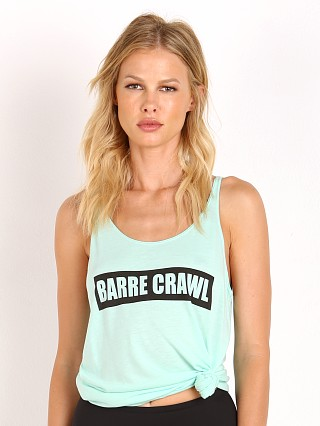 Yoga RX Barre Crawl Slouchy Tank Mint