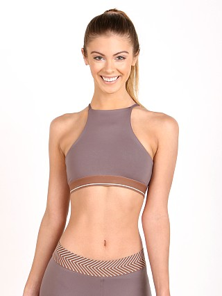 Olympia Activewear Thalia High Neck Bra Clay