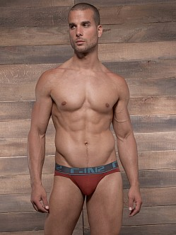 C-IN2 Pop Colors Sport Brief Russet Rust
