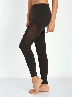 SOLOW Side Mesh Cutout Legging Black
