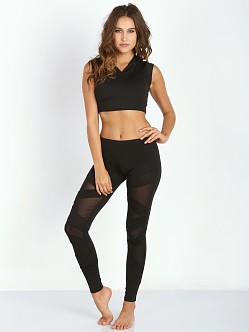 SOLOW Box Eclon Cutout Legging Black