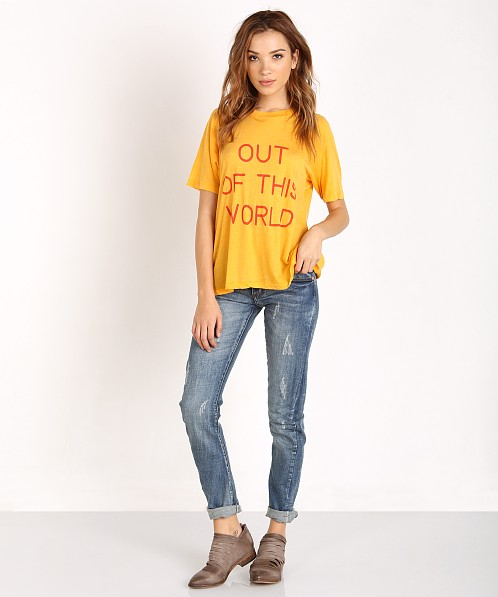 Wildfox Out Of This World Perfect T Egg Yolk Wtj54129f