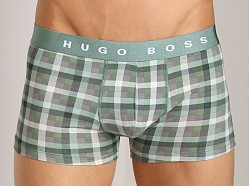 Hugo Boss Innovation 1 Plaid Trunk Green