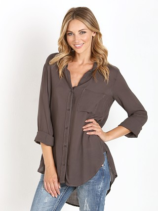 Bella Dahl Shirttail Button Down Phantom