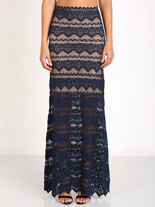 Nightcap Sierra Lace Maxi Navy
