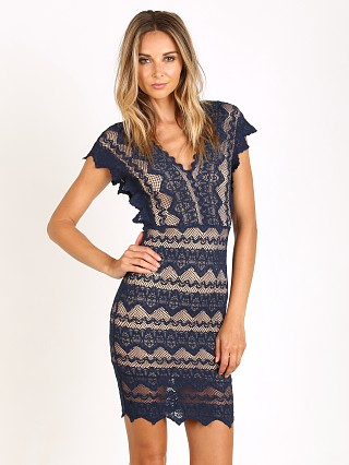 Nightcap Antoinette Dress Navy
