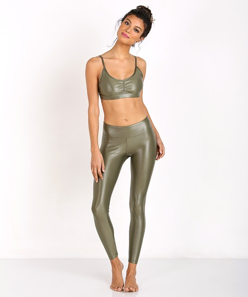 Koral Element Sports Bra Olive