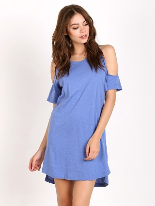 LNA Clothing Ella Dress Summer Blue