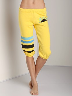 Day By Day Capri Pant Yellow