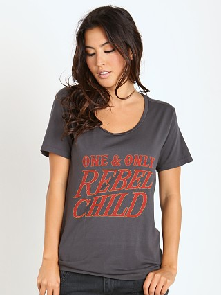 MATE the Label Camden Tee Rebel Child Vintage Black