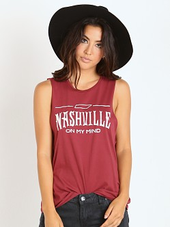 MATE the Label Mate Tank Nashville Oxblood