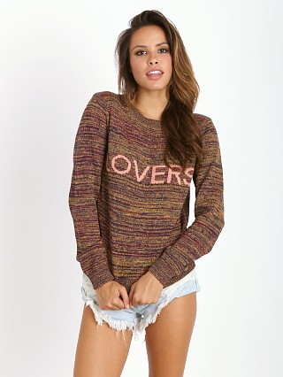 Lovers + Friends Lover Pullover Sweater Scarlet
