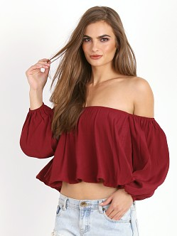Faithfull the Brand Riot Top Plain Red