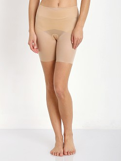 SPANX Skinny Britches Mid Thigh Shaper Natural