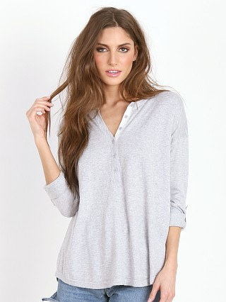 Splendid Pullover Heather Grey/Cream