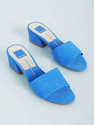 You may also like: Dolce Vita Rilee Slide Blue Suede