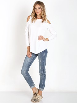 LNA Clothing Meridian Top Ivory