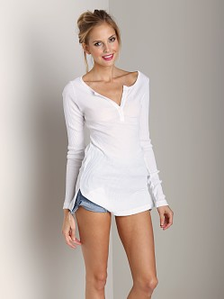 LACAUSA Long Henley White