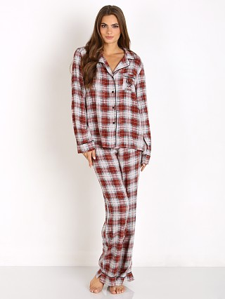 WILDFOX Sun Bleached Plaid Classic PJ Set