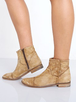 Free People Shadow Lark Ankle Boot Washed Taupe