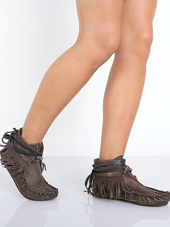Free People Eastwood Moccasian Chocolate