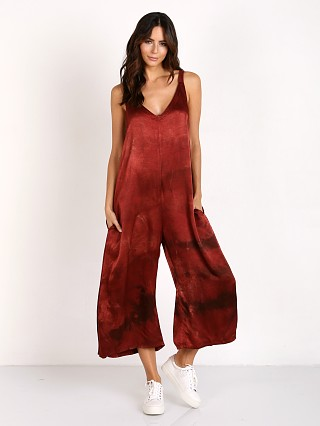 LACAUSA Santi Jumpsuit Crimson