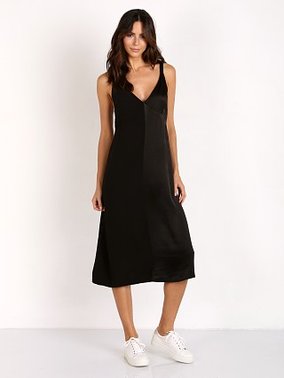 LACAUSA Dual Satin Dress Tar
