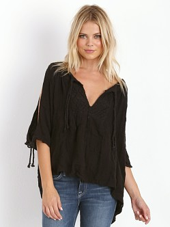 Jen's Pirate Booty Lace Tabasco Top Black