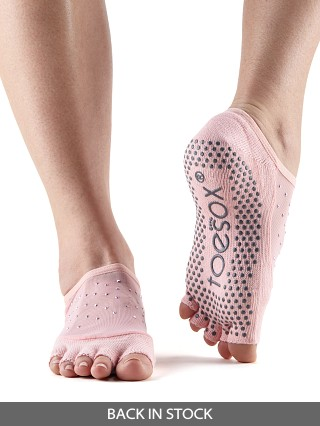ToeSox Luna Barre Sock Kiss