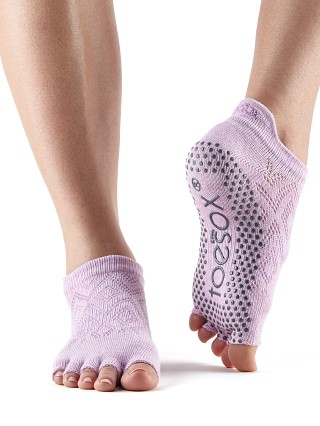 ToeSox Low Rise Barre Sock Diamond Freesia