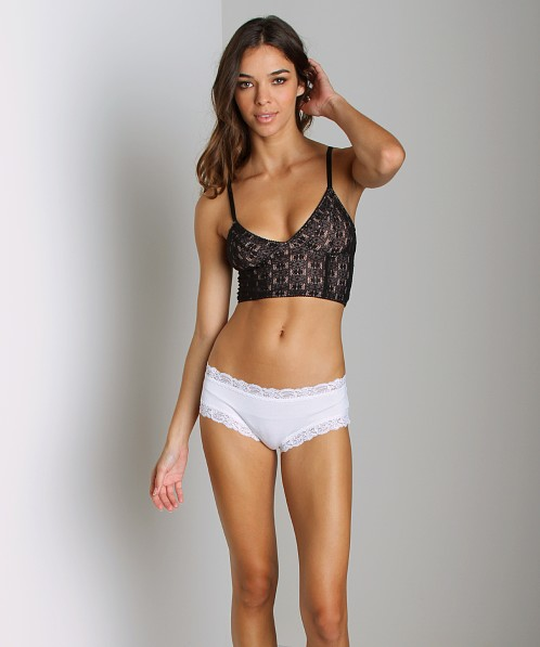 Free People Daisy Crop Bra Champagne