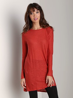 Nation LTD Beacon Hill Tunic Top Chilli