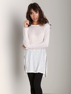 Nation LTD Beacon Hill Tunic Top Winter White