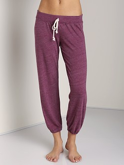 Nation LTD Medora Capri Sweats Purple Potion