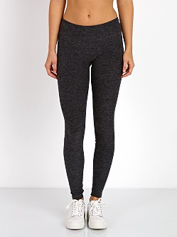 Beyond Yoga Space Dye Long Essential Legging Black Steel