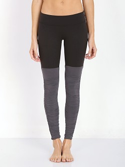 Beyond Yoga Leg Warmer Legging Black/Steel