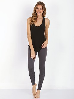 Beyond Yoga Leg Warmer Legging Steel