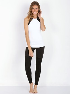 Beyond Yoga Scuba Tank White-Black