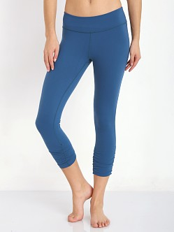 Beyond Yoga Gathered Essential Legging Moraccan Blue