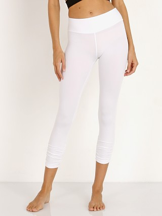 Beyond Yoga Gathered Essential Legging White