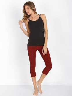 Beyond Yoga Capri Legging Crimson Red Space Dye
