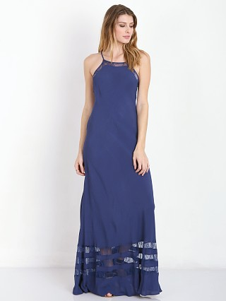 Lovers + Friends Sheer Bliss Maxi Navy
